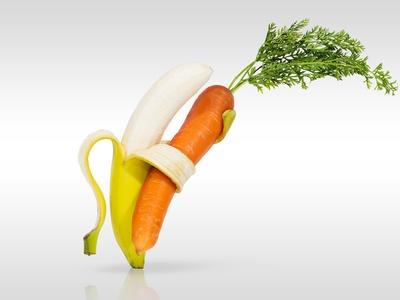 Frutas hasta en la sopa