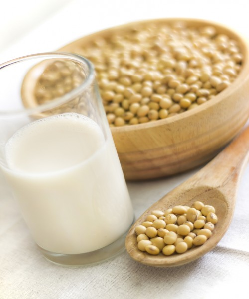 Cocinar con leche de soja