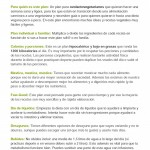 Instrucciones   Vegetariano LIGHT