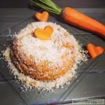 Pastel sin horno de zanahoria y mandarina