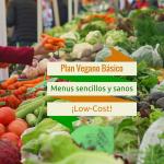 Plan vegano básico low cost