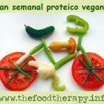 Plan semanal vegano proteico