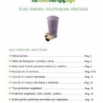 Portada Plan Semanal Vegetariano Proteico