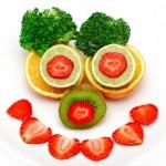 Sonrisa de frutas
