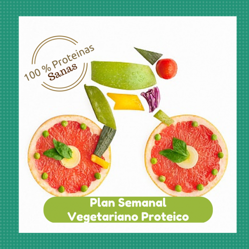 plan semanal vegetariano proteico the food therapy