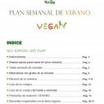 Portada Plan Vegano de Verano