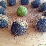 Bolitas de mijo verde y semillas