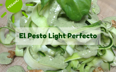 El pesto light perfecto