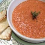 Crema de tomates asados