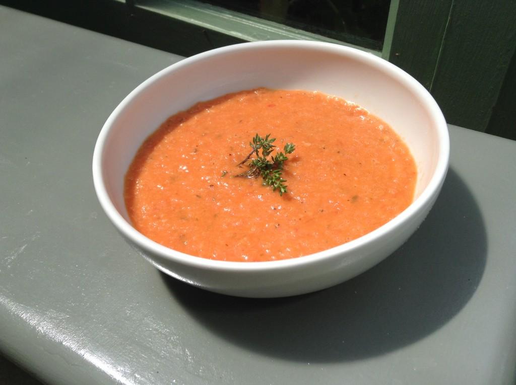 Crema de Tomates Asados 4