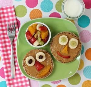 comida equilibrada para niños