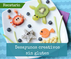 Recetario de desayunos para niños creativos