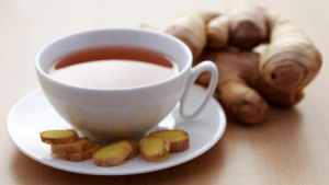 Ginger white tea