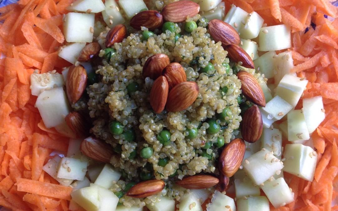 Mandala de quinoa