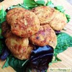 Bocaditos de quinoa, pimientos del piquillo y avellanas