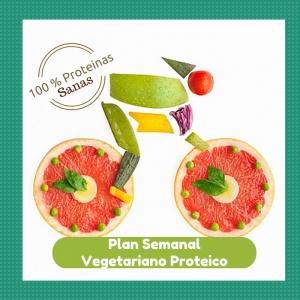 Plan Semanal Vegetariano Proteico