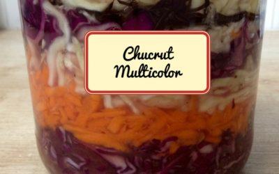 Como hacer chukrut multicolor (Guía visual)